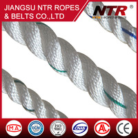 NTR 2016 3 strand 16mm top grade double braided polyester marine rope