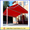 100% waterproof pvc knife coated tarpaulin tent and awning fabric