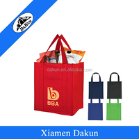 Keeping the food & cans cold/ warm shopping cooler bag DK14-2526/Dakun