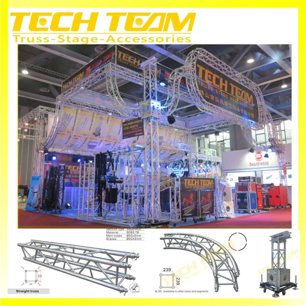 High Quality Used Portable Stage Used Aluminum Lighting Truss