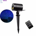 Waterproof IP65 Outdoor Christmas Light Laser Firefly Stage Lights Landscape Red & Green Projector Christmas Garden Sky Star Law