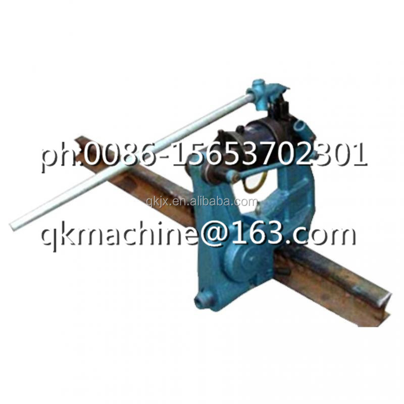 Steel Rail Drilling Machine with high drilling precision