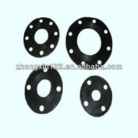 SR molded rubber pad with holes silicone rubbr auto fittings