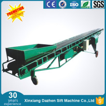 Mobile sawdust Small conveyor belt system