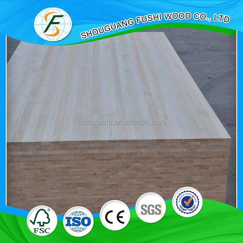 Chile Radiata Pine wood finger joint panel/ glued laminated timber