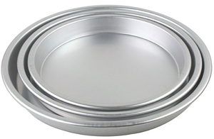 aluminum pizza baking tray round baking pans with nonstick layer