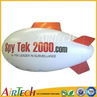 Giant customized inflatable blimp for advertising
