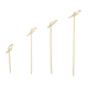 Wooden and bamboo skewers knot skewers