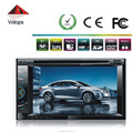 6.2inch double din universal DVD with GPS/BT/TV/DVD/CD/MP3/MP4/AM