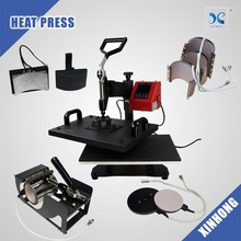 Hot Sale Lanyard Heat Press Machine Combo Multifunction 8 In 1 Heat Press Machine