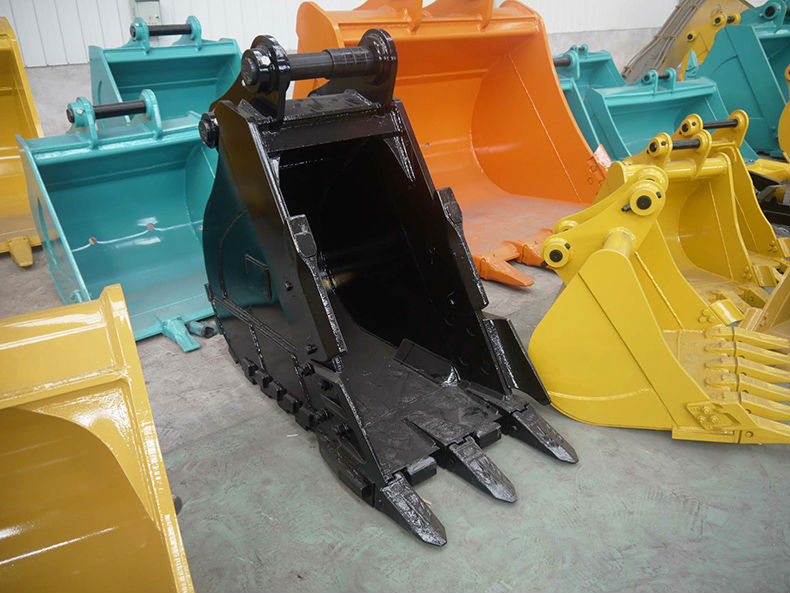 wholesale machinery supply attachment parts 0.6m3 excavator bucket for excavator Doosan 225 on hot sale