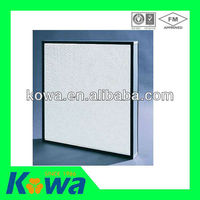 high quality clean room air condition Mini-pleat material hepa filter