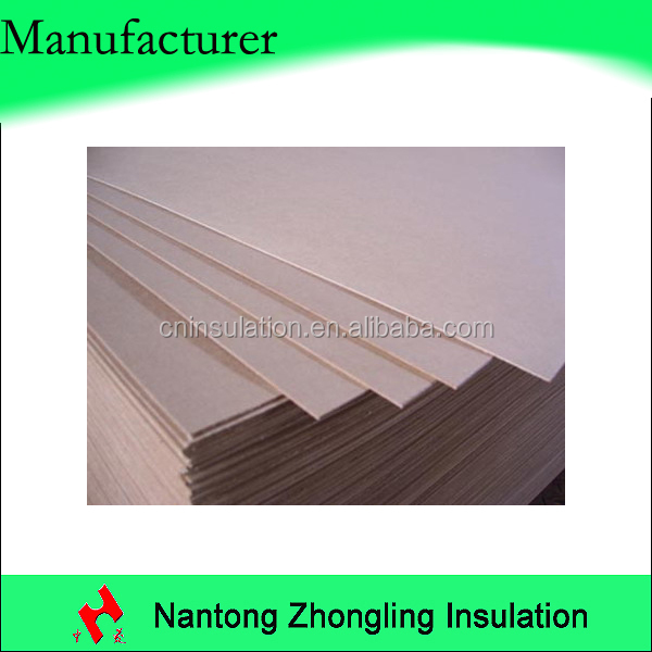 electrical isolation plate paperboard