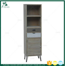 Tall Corner Cabinet Storage Unit Shelves Cupboard For Living Room Hall Bedroom