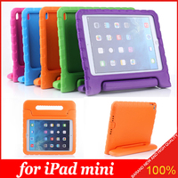 Handle Take Stand EVA Shockproof Kid-Friendly Soft Case Cover for iPad mini