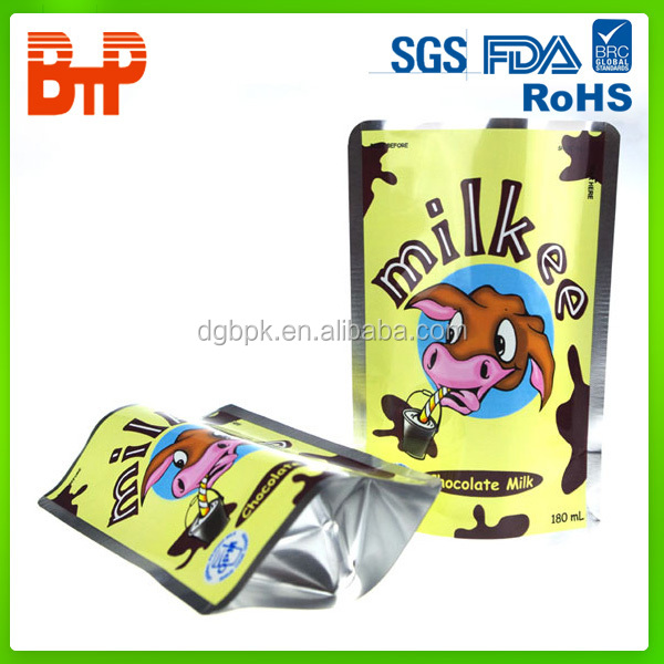 stand up pouch for food
