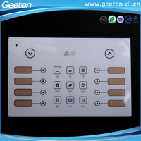 Screen Printing Waterproof PC/PET Membrane Remote Control Sticker For Home Applicance