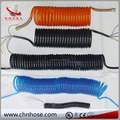 "2016 hot sale china maufacturer 1/4"" double male fitting nylon flexible hose pipe"