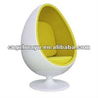 Iconic furniture Egg shape chair