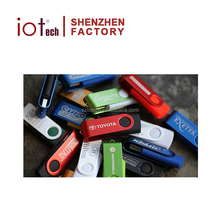 Wholesale Promotion Gift Cheap Bulk 2GB 8GB 16GB USB Flash Drive, Custom Brand Swivel USB Memory Stick