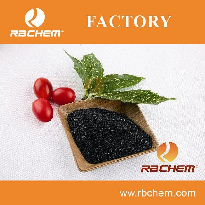 Low cost procurement and shipping for 80% POTASSIUM HUMATE FOB/CIF from China Humic Acid 80%& K2O 15% &100% Solubility