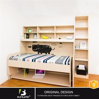 Murphy Bed Desk Combination Euro Wall Panel Bed