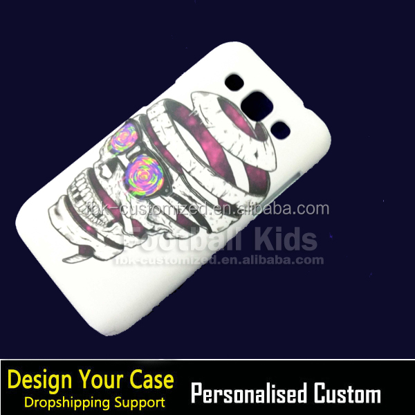 Heat transfer Mobile phone back cover case for samsung galaxy win i8552 sublimation 3d