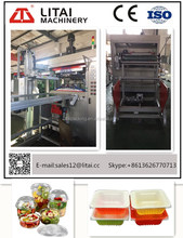TQC-750 cup production line Disposable Plastic PET Cup Making Thermoforming Machine