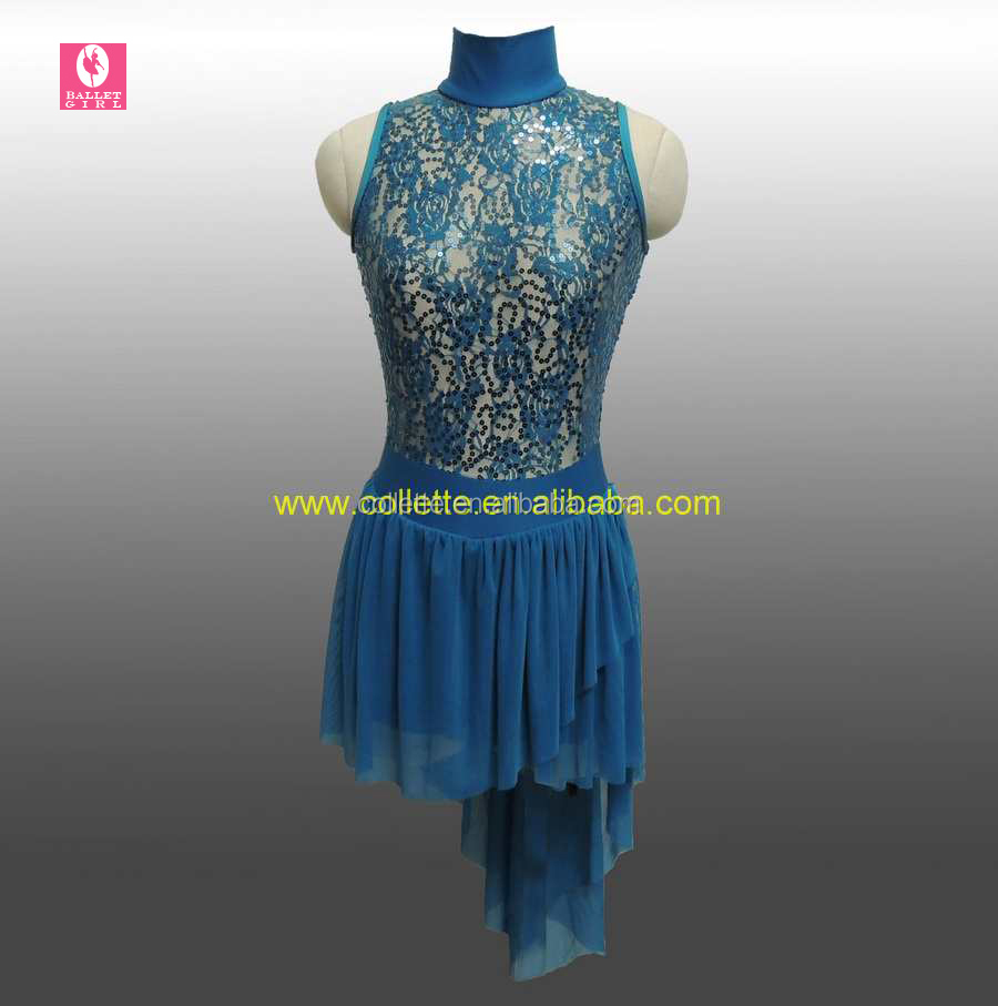 MBQ531 Sexy adult lace lycra ballet jazz leotard dance costume dress