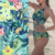 Polyester swimwear digital printing stretch swim fabric by the yard