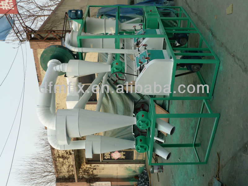 wheat flour mill machine product line