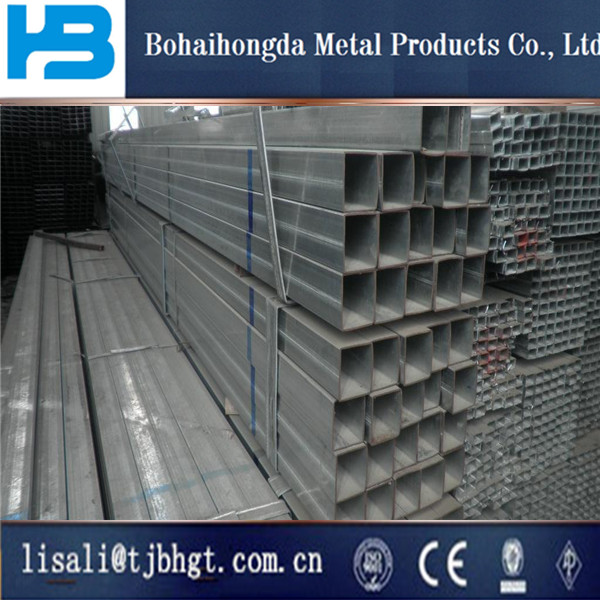 foreign trade of GALVANIZED STEEL SQUARE PIPE sea trestle