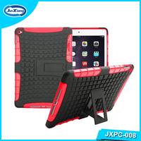 Tyre pattern Tablet case with hard kickstand for iPad 5