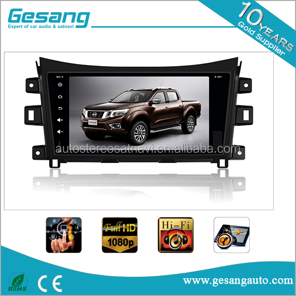 Car Multimedia entertainment system android 6.0 car dvd player for Nissan Navara 2016