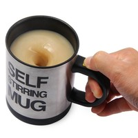 Hot Selling 400ML Self Stiring Mug Automatic Agitation Smart Stainless Steel Coffee Cup