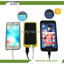 Factory price fast charge solar power phone charger