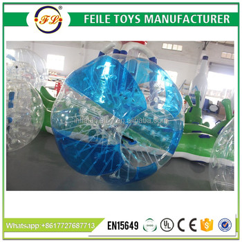 2017 high quality inflatable body bumper ball for adult