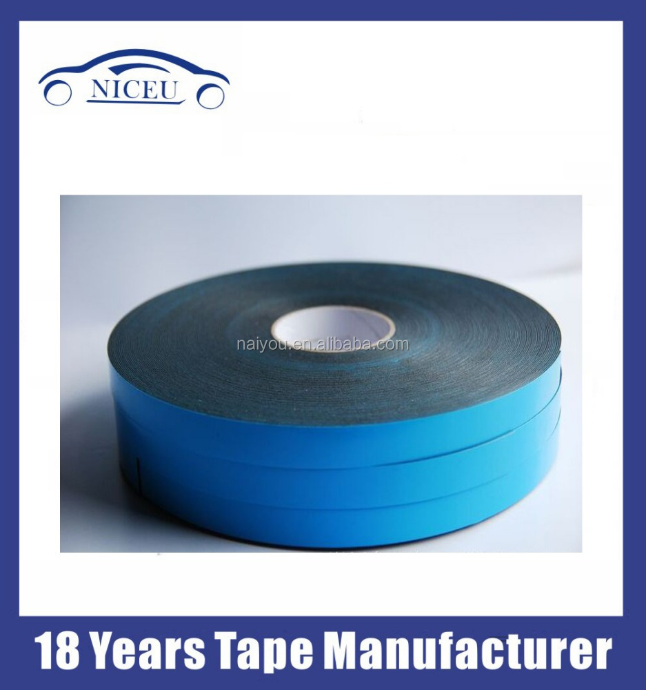 PE/EVA foam tape blue film double sided strong adhesive tape