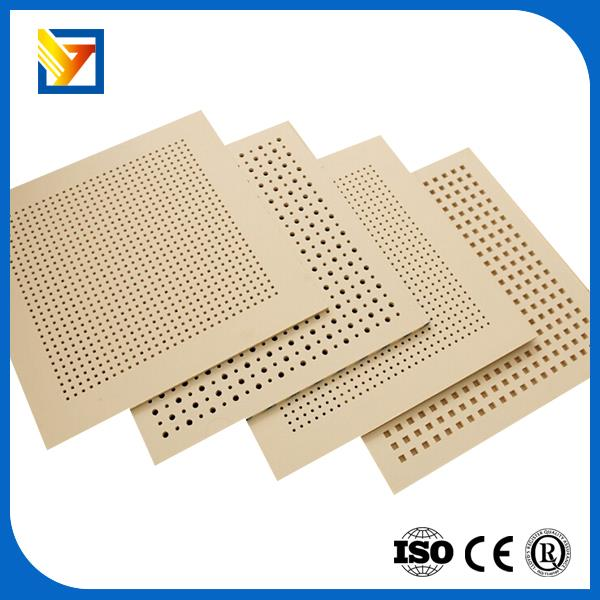 Sound proof perforated gypsum board buy