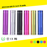FCC CE Rohs Portable Mobile Phone USB 2600mah Power bank