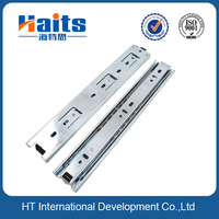 45mm 3-fold extension rail in high quality, slide for incorporated drawer