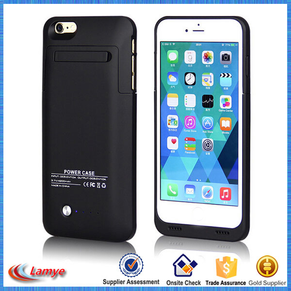 Reseller opportunities Real 3200mAh Power Backup external battery case for iphone