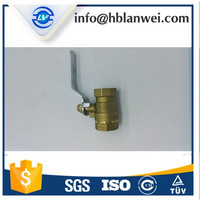 Brass Gas ul fm Ball/forged gate Valve dn100 MF