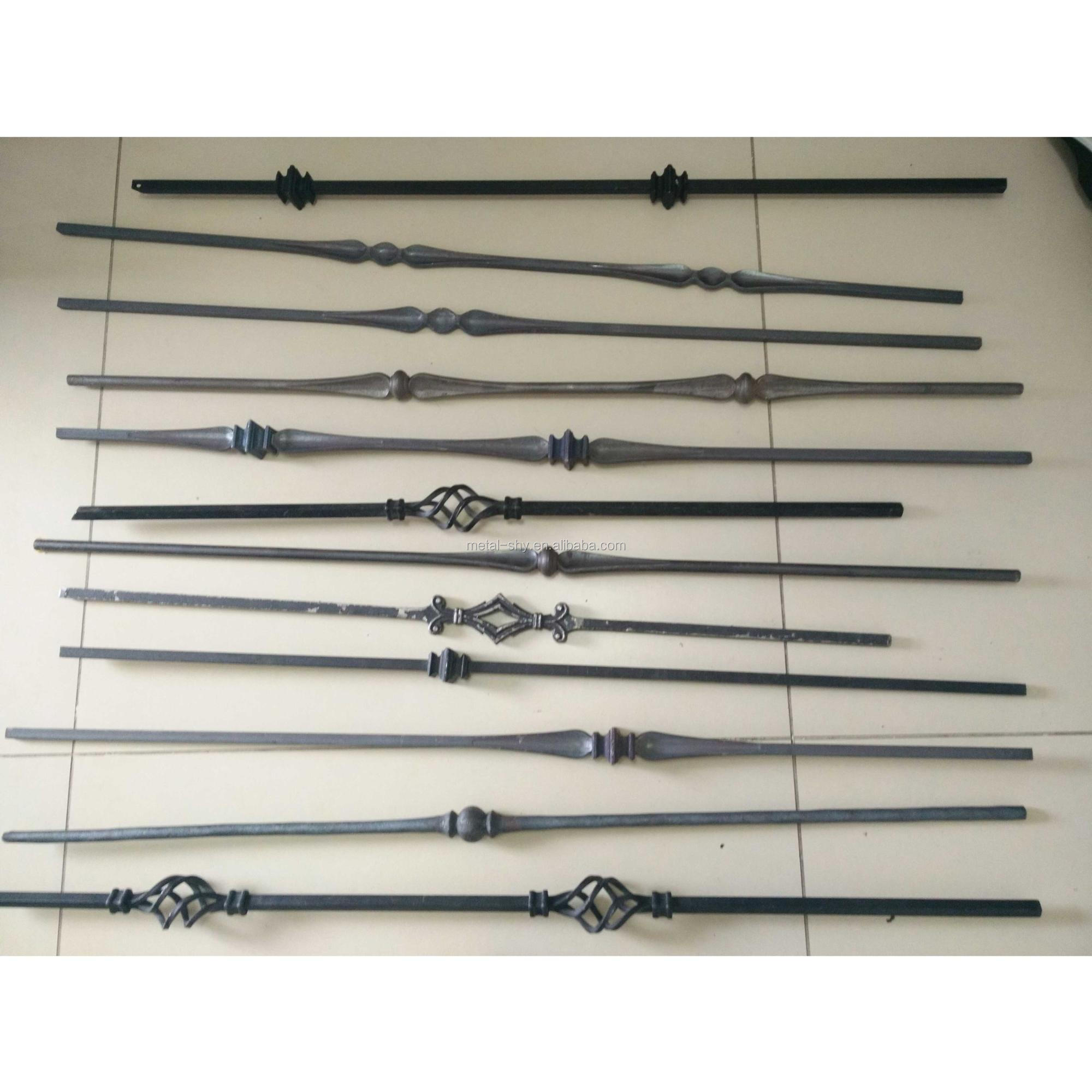 Hot Sale Decorative Indoor Wrought Iron Balusters Wholesale