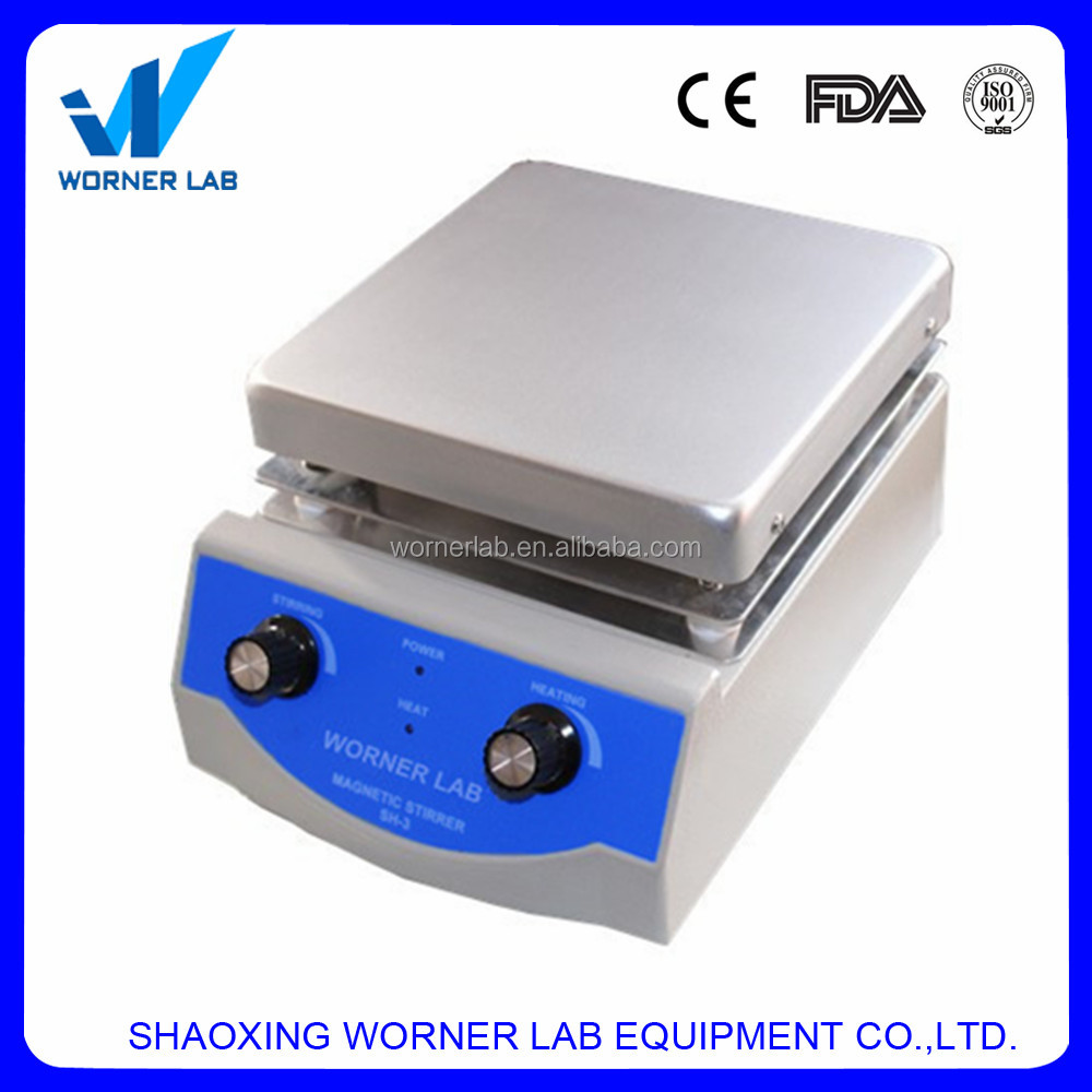 WORNER LAB digital hot plate magnetic stirrer for sale