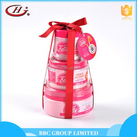 Whitening body lotion cream gift sets 3pcs pack