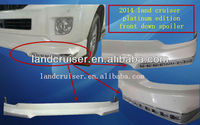 2014 land cruiser body kits,platinum edition front down spoiler for 2014 FJ200/LC200 land cruiser
