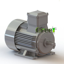 9KW 100RPM Low start wind speed, Three Phase AC, High output Permanent Magnet Generator