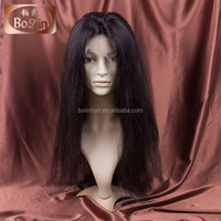 indian remy full lace wigs with bangs unprocessed indian women hair wig