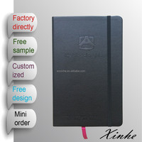 2015 new arrival A5/A6 custom PU leather promotional diary notebook with pocket